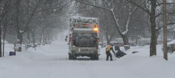 Trash Service for Jan 29 2016
